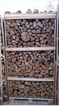 תמונה של 1 קוב- עצי אלון ארופאי מבוקעים בכלוב