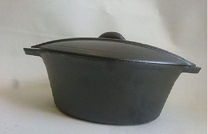 תמונה של סיר בישול יציקה מעוצב- 3 ליטר